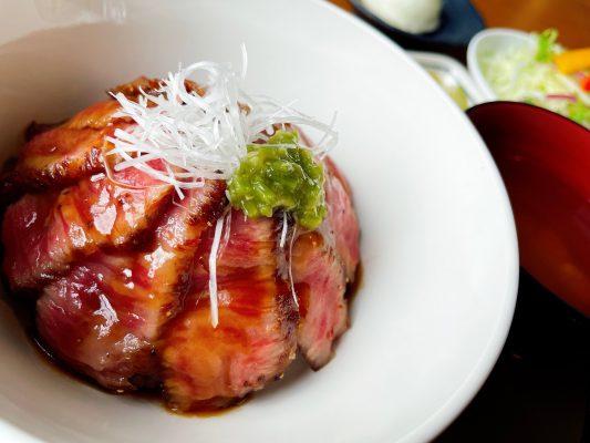 能登牛のステーキ丼(西能登おもてなし丼)